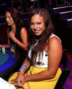 LOS ANGELES, CA - SEPTEMBER 16: TV personality Danielle Milian attends the Get Lucky for Lupus LA celebrity poker tournament and party at Avalon on September 16, 2015 in Hollywood California. Lupus LA raises funds for its patient programs, local rheumatology fellowships and research partner, The Lupus Research Institute. (Photo by Tiffany Rose/Getty Images for Lupus LA)