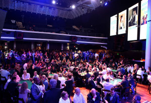 LOS ANGELES, CA - SEPTEMBER 16: A generavl view of the poker room at the Get Lucky for Lupus LA celebrity poker tournament and party at Avalon on September 16, 2015 in Hollywood California. Lupus LA raises funds for its patient programs, local rheumatology fellowships and research partner, The Lupus Research Institute. (Photo by Tiffany Rose/Getty Images for Lupus LA)
