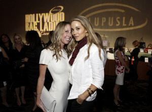 BEVERLY HILLS, CA - NOVEMBER 20: Honoree Eve Somer Gerber and actress Elizabeth Berkley attend the Hollywood Bag Ladies Luncheon to benefit Lupus LA at The Beverly Hilton Hotel on November 20, 2015 in Beverly Hills, California. (Photo by Tiffany Rose/Getty Images for Lupus LA)
