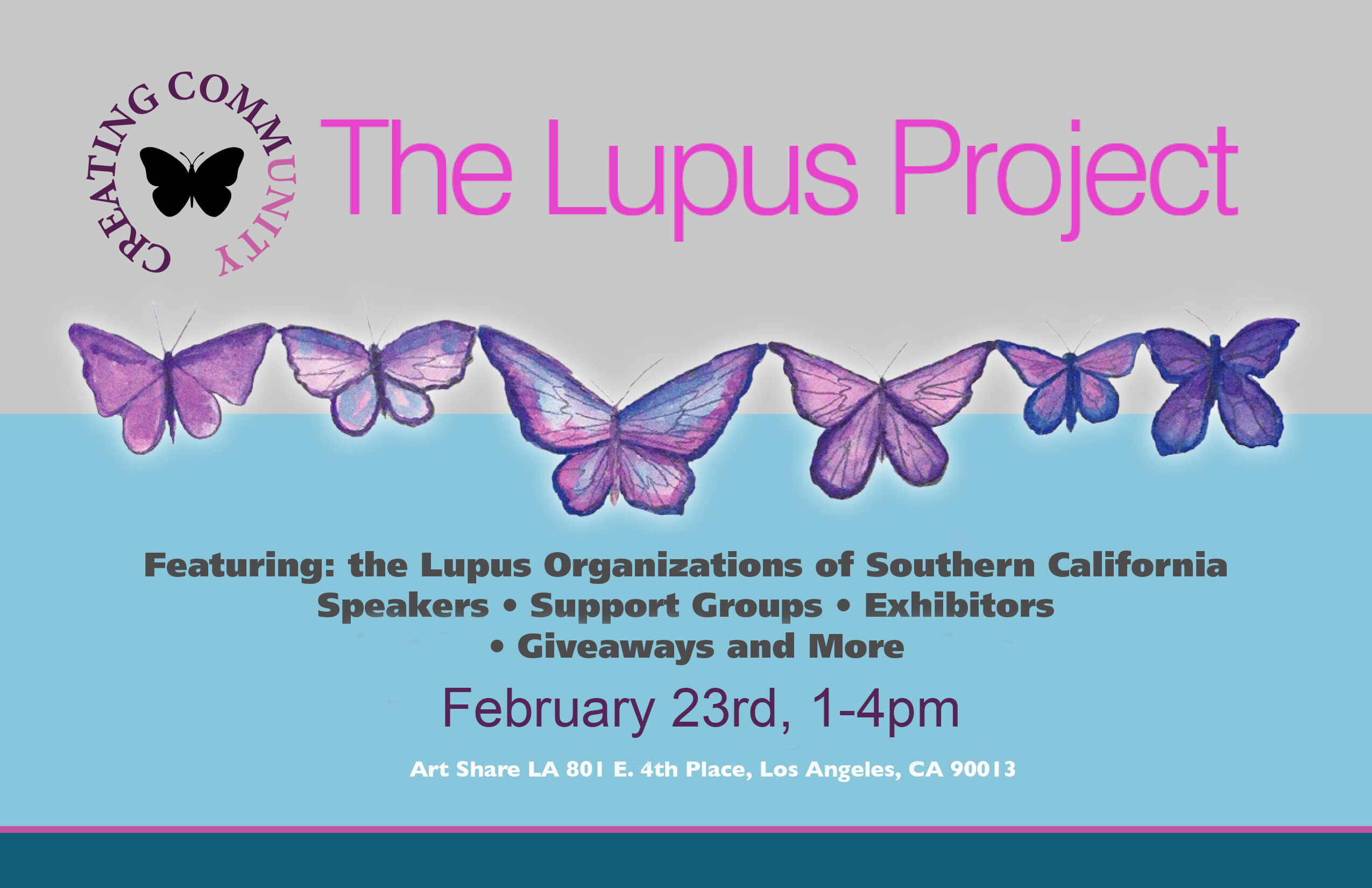 Join Us at the Lupus Project Event on 2/23!